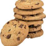 cookies, chocolate chip cookies, stack of cookies