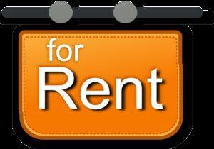 for rent, sign, rental