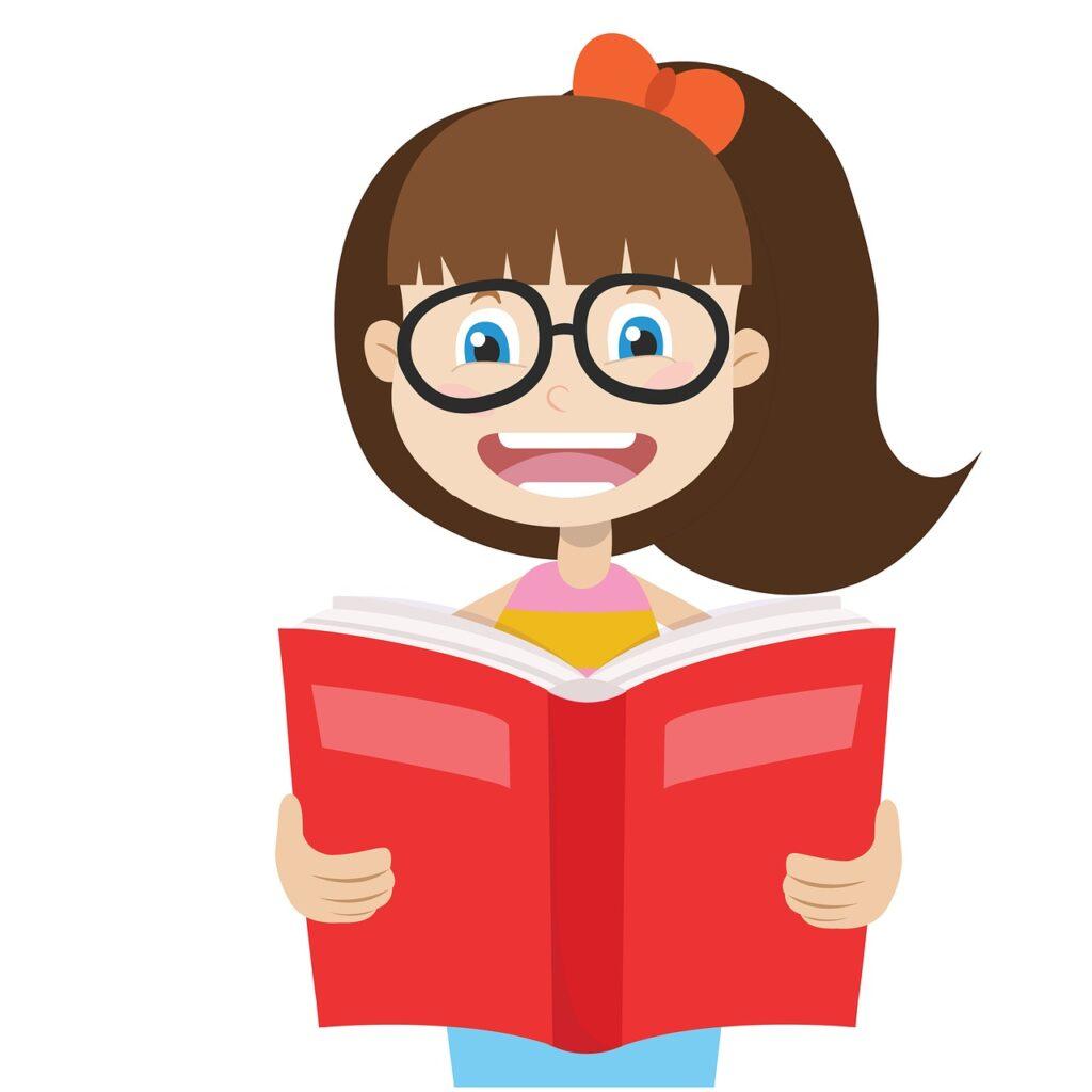 girls, read, readers