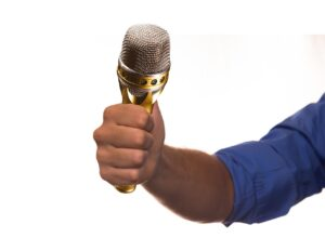 interview, microphone, mic
