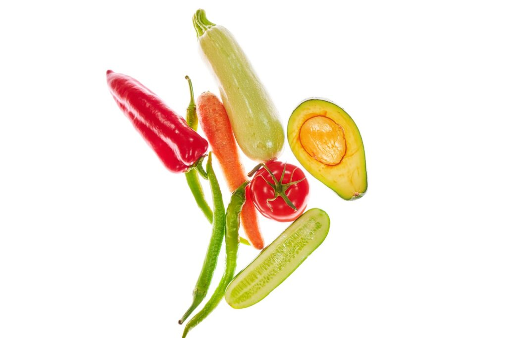 vegetables, healthy, pepper